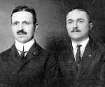 Konica e Josif Pani 1910 retushuar